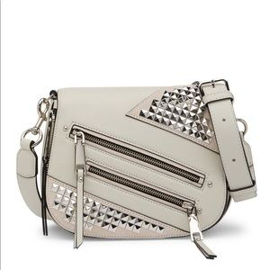 Marc Jacobs Studded Small Leather Nomad Crossbody